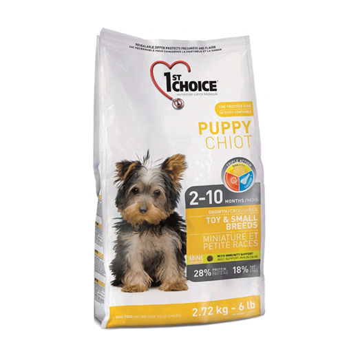1st Choice Puppy Toy&Small 2,72kg