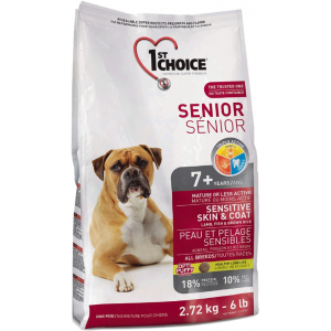 1st Choice Senior Skin&Coat 2,72kg