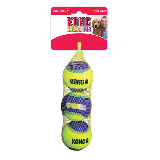 KONG Crunch Air Ball x3