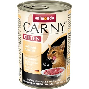 Animonda Carny KITTEN siipikarja-cocktail 400g