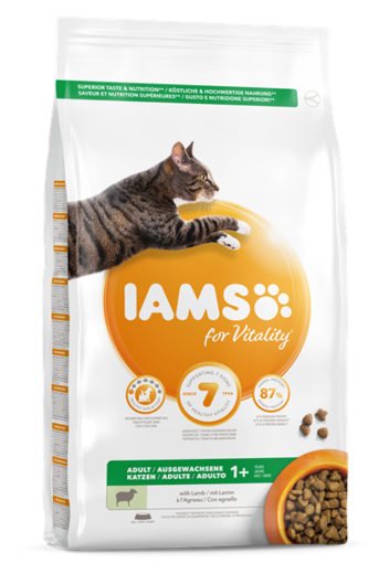 IAMS Cat Adult Lamb 3kg