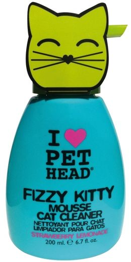 Pet Head Fizzy Kitty Mousse Cleaner-vaahtokuivapesu