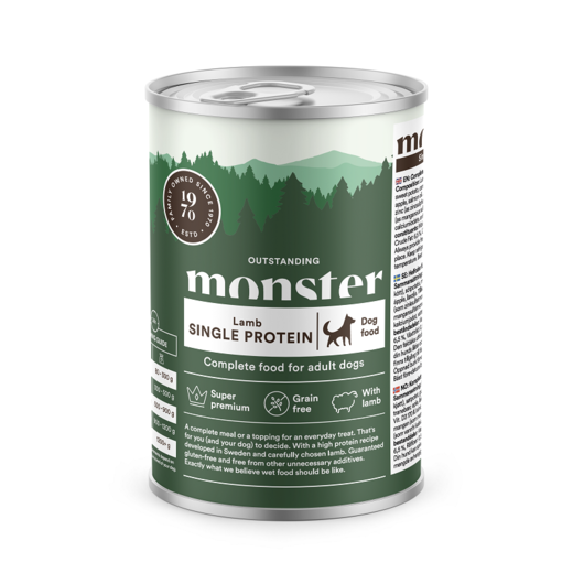 Monster Dog Lamb 400g
