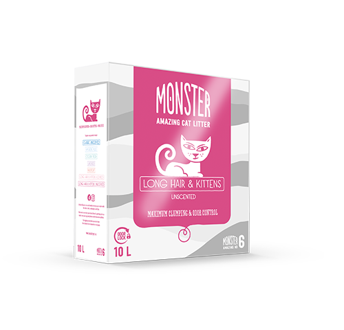 Monster Long hair&Kitten Unscented