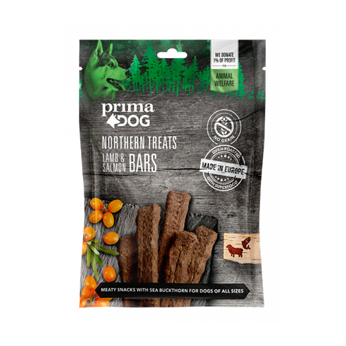 PrimaDog Northern Treats Lammas-lohitanko, 80g