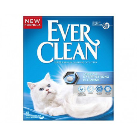 EverClean Extra Strong Unscented 10L